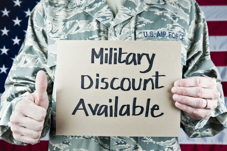 I offer 10% off to all military. This military discount applies to all branches from Army, Air Force, Navy, Marines, and Coast Guard.