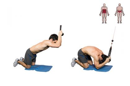 cable machine ab workout