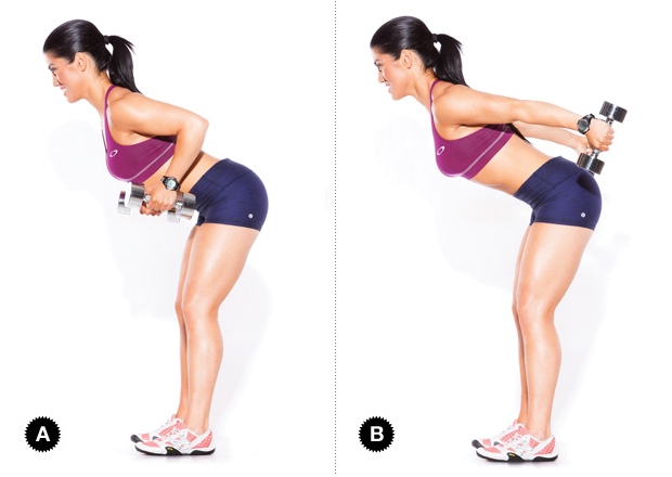 An Exercise for Training Arm, Triceps Kick