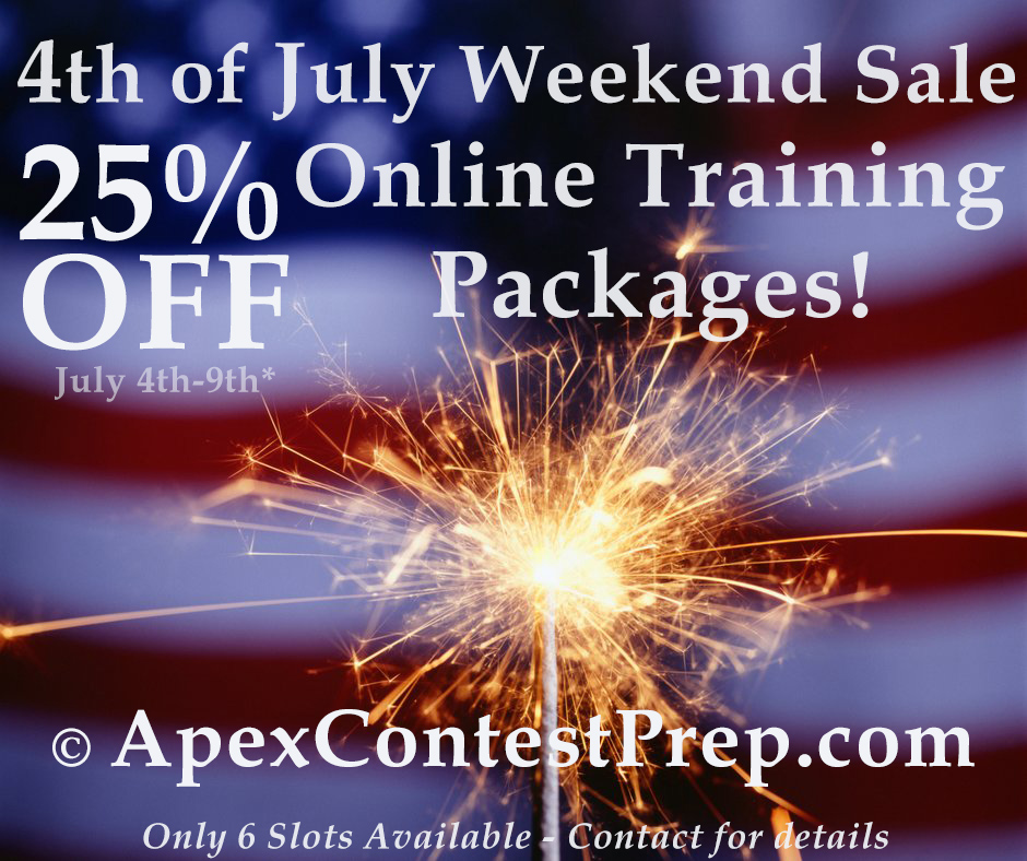 4th of july online training sale, online training sale